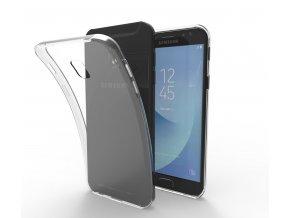 Silikónový kryt (obal) pre Samsung Galaxy J5 2017 (J530F) - priesvitný
