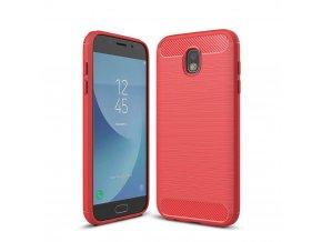 Silikónový kryt (obal) pre Samsung Galaxy J5 2017 (J530F) - červený