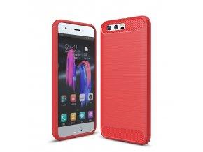 Silikónový kryt (obal) pre Huawei Honor 9 - červený (red)