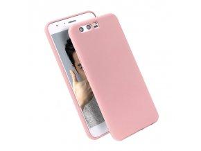 Silikónový kryt (obal) pre Huawei Honor 9 - pink (ružový)