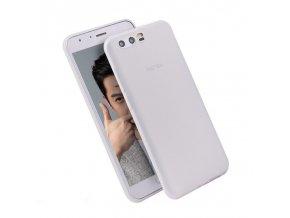 Silikónový kryt (obal) pre Huawei Honor 9 - biely (matný)