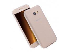 Silikónový kryt (obal) pre Samsung Galaxy J3 2017 (J330F) - matný biely