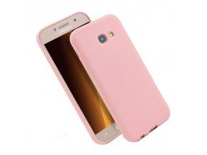 Silikónový kryt (obal) pre Samsung Galaxy J3 2017 (J330F) - ružový
