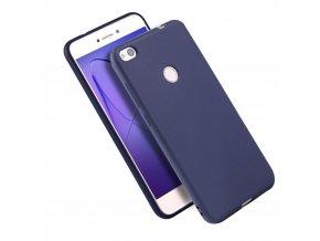 Silikónový kryt (obal) pre Huawei Honor P9 Lite 2017 - tm. modrý