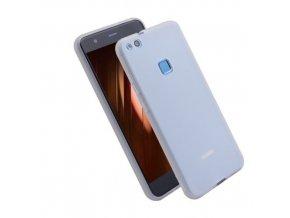 Silikónový kryt (obal) pre Huawei P10 Lite - matný biely