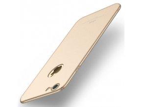 Plastový kryt pre iPhone 6/6S - matte gold