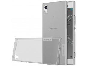 Silikónový Nillkin kryt (obal) pre Sony Xperia XA1 - grey (šedý)