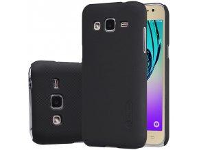 Plastový Nillkin kryt pre Samsung Galaxy J3 2016 (J320F) - čierny