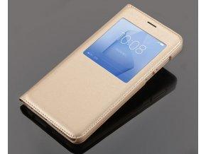 Flip Case (puzdro) pre Huawei Honor 8 - zlaté