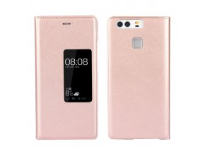 Flip Case (puzdro) pre Huawei Ascend P9 - rose gold