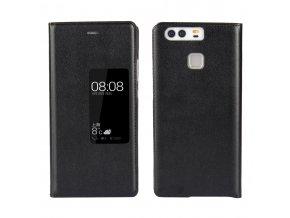 Flip Case (puzdro) pre Huawei Ascend P9+ (PLUS) - čierne