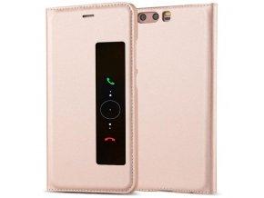 Flip Case (puzdro) pre Huawei Ascend P10 - rose gold