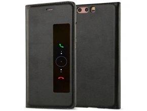 Flip Case (puzdro) pre Huawei Ascend P10+ (PLUS) - čierne
