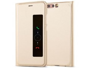 Flip Case (puzdro) pre Huawei Ascend P10+ (PLUS) - zlaté