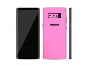 Dizajnová wrap fólia pre Samsung S8+ (PLUS) - ružová