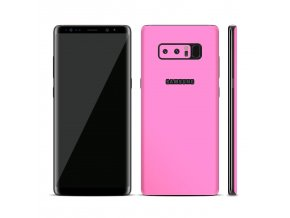 Dizajnová wrap fólia pre Samsung S8 - ružová