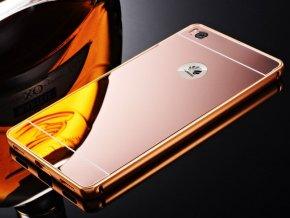 Hliníkový kryt (obal) pre Huawei P9 Lite 2017 - rose gold