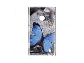 Plastový kryt (obal) pre Nokia Lumia 1320 - motýľ