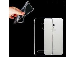 Silikónový kryt (obal) pre Asus Zenfone 5 - clear (priesvitný)