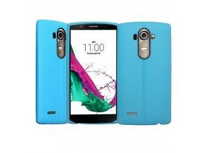 Silikónový kryt (obal) pre LG G4 - light blue (sv. modrý)