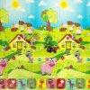 Detská skladacia podložka PIGGY 200x140cm - hrubá, CASMATINO