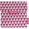 Vrecko na desiatu Snack'n'Go - Tiles Pink