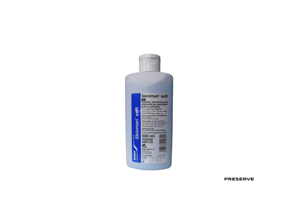 Skinman Soft Protect 500 ml + pumpička zdarma