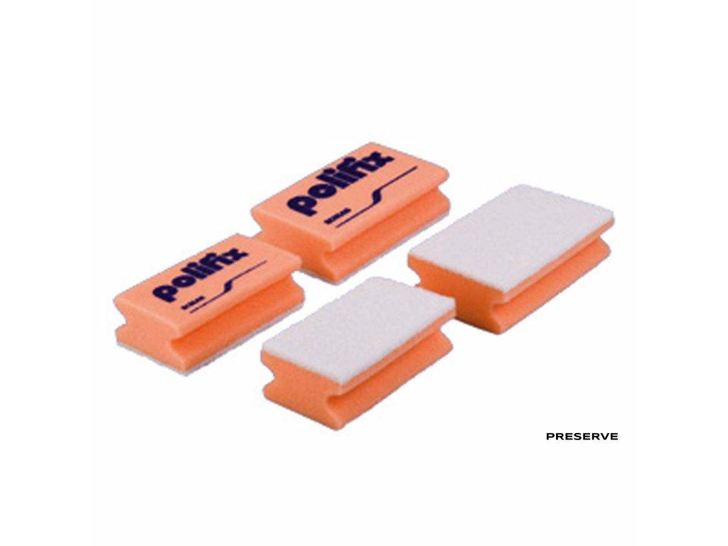 10200799 Polifix Sanitärschwamm weißes Pad, groß EU