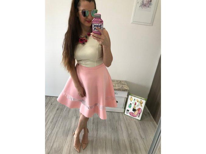 Áčková sukňa