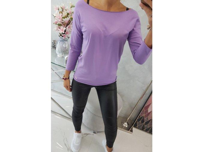 V61 Jednofarebné tričko