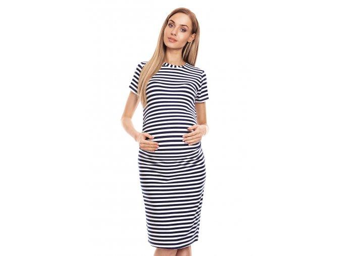 Tehotenské námornícke šaty