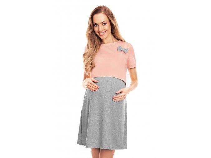 Tehotenská nočná košeľa Bowl 10