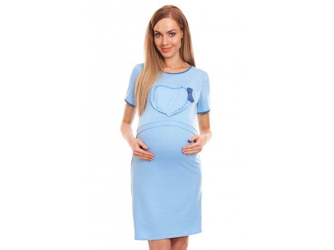 Tehotenská nočná košeľa Heart
