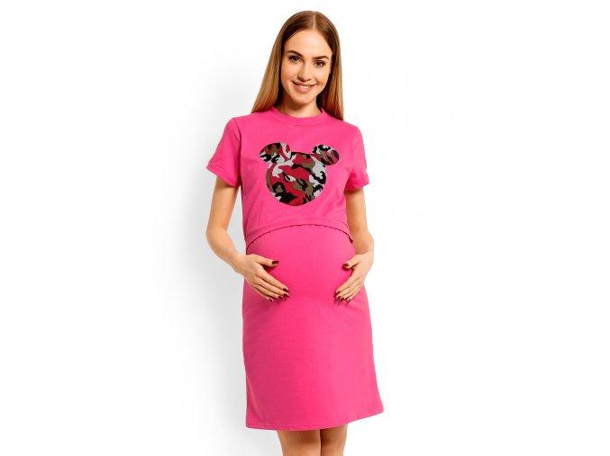 Tehotenská nočná košeľa Mickey 6