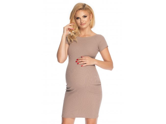 Bavlnené tehotenské šaty (6)