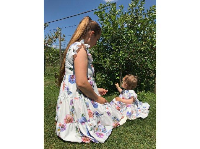 Šaty Rose pre mamu a dcéru 1