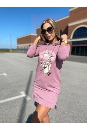 Z91 šaty s potlačou 1