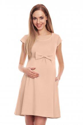 Tehotenské krátke elegantné s:aty:tunika