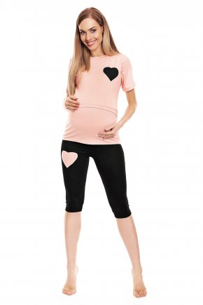 Tehotenské pyžamo Heart 1