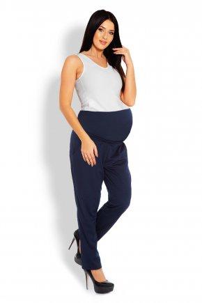 Tehotenské nohavice voľného strihu 4