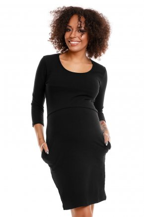 Bavlnené tehotenské šaty 4