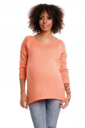 Tehotenský ležérny sveter 4