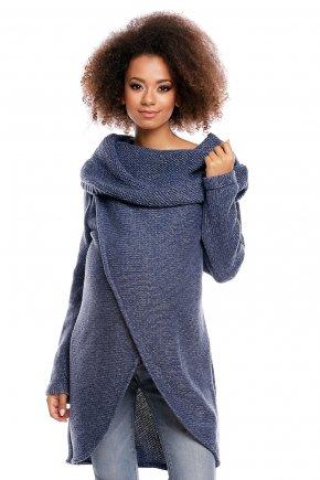 Tehotenský sveter s golierom 12