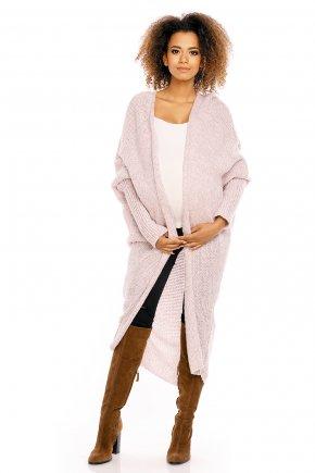Tehotenský dlhý sveter bez zapínania 5