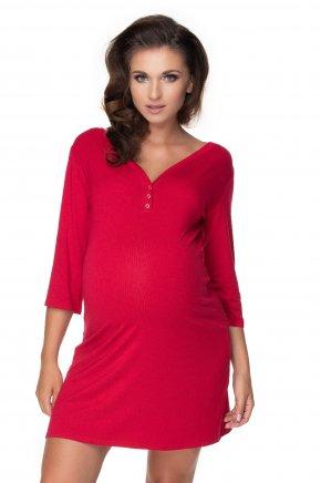 Tehotenská nočná košeľa s ¾ rukávom (10)