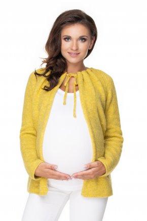 Tehotenský sveter so zaväzovaním (9)