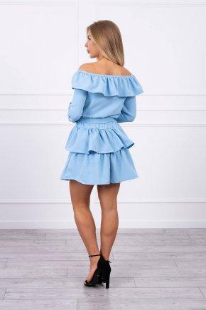 X16 Volánové šaty 5