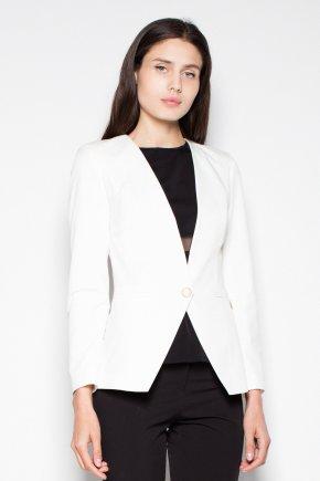 Elegantné sako ecru#1