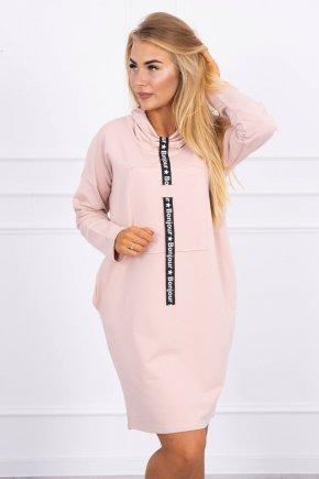 Mikinové šaty Bonjour 16