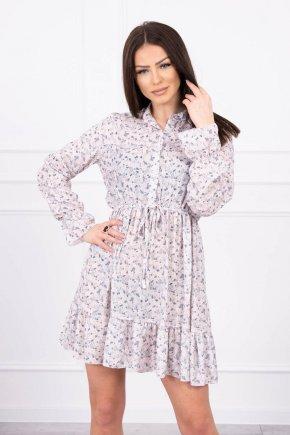 Šaty s kvetinovou potlačou 4